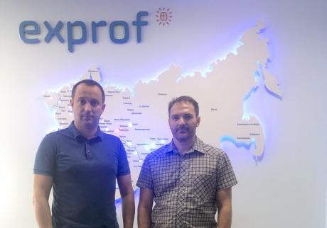 Завод ЭксПроф посетил представитель ЮПТ