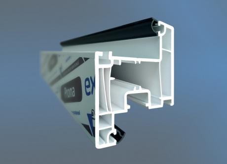 ЭксПроф начал выпускать профиль с коэкструдированным уплотнителем