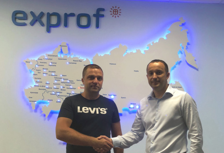 Крупный производитель окон из Кемерово посетил завод ЭксПроф