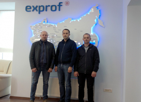 Завод ЭксПроф посетил партнер из Кирова