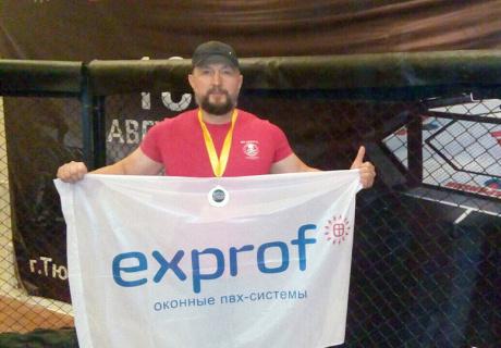 Представитель ЭксПроф занял призовое место на турнире по пауэрлифтингу
