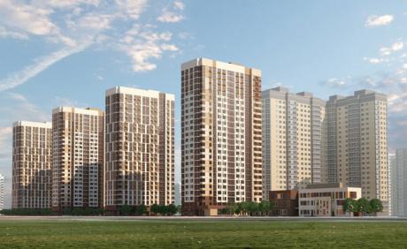 Партнер ЭксПроф приступил к остеклению жилого комплекса в Долгопрудном.