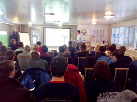 Компания ЭксПроф провела семинар для крупного клиента в Воронеже