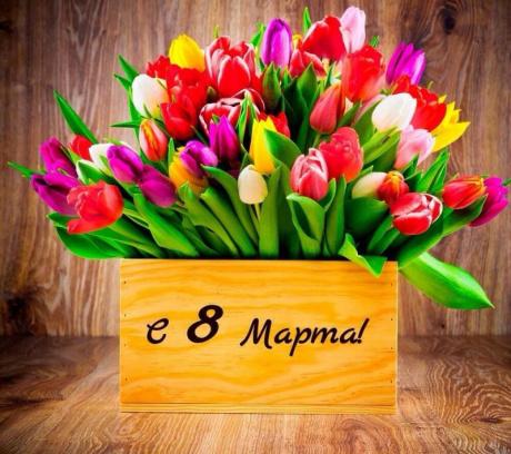 Компания ЭксПроф поздравляет с 8 марта!