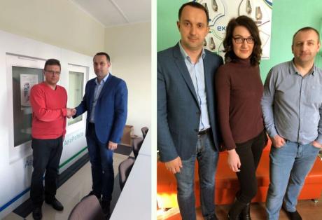 ЭксПроф в Минске провел встречи с партнерами