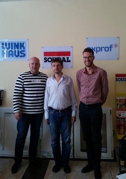 Технический руководитель ЭксПроф посетил оконные компании Казахстана