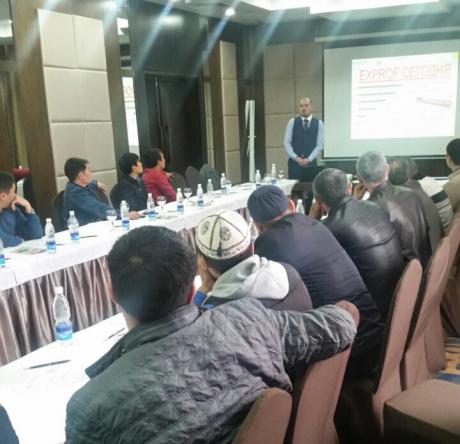 Компания ЭксПроф провела семинар для оконных компаний Киргизии