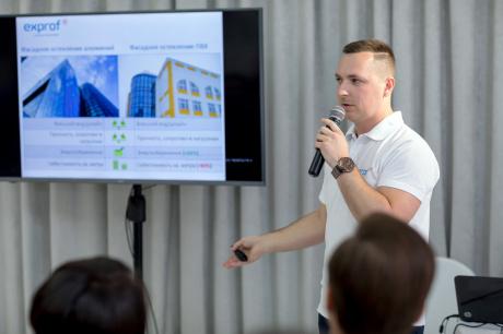 Застройщики Башкортостана заинтересовались фасадным остеклением exprof Robusta