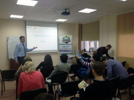 Компания ЭксПроф провела тренинг для Новосибирских партнеров